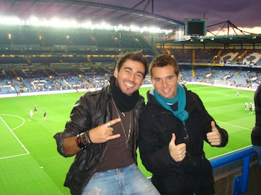 "Stefano at Stamford Bridge ""Incredible Experience!"""