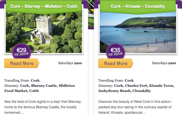 Day Tours around the Emerald Isle with Happy Tours Ireland