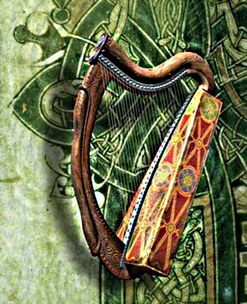 Brian Boru and the Celtic Harp