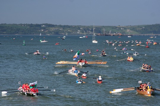 Cork rowing race! Ocean to City in Cork