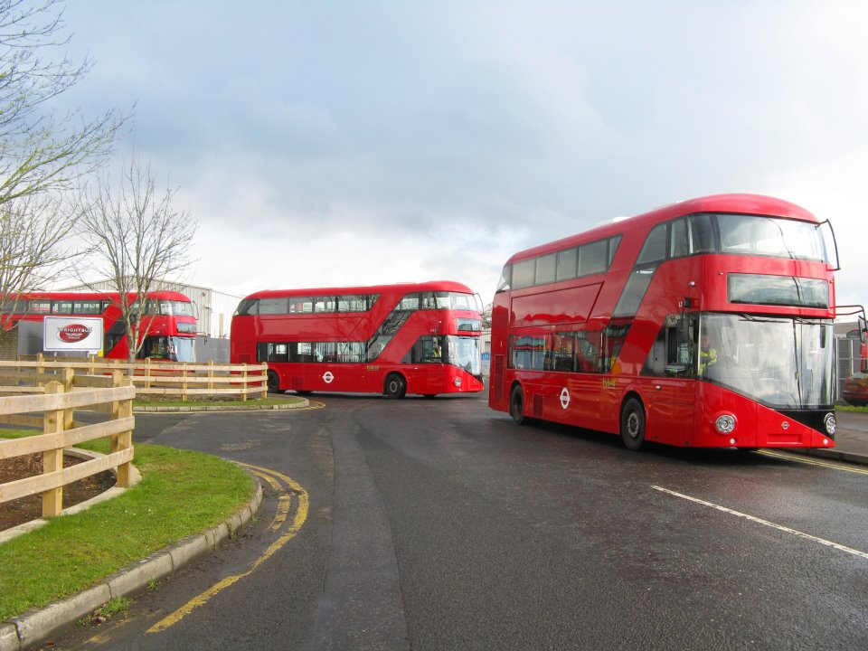 Transport of London: new buses are coming!