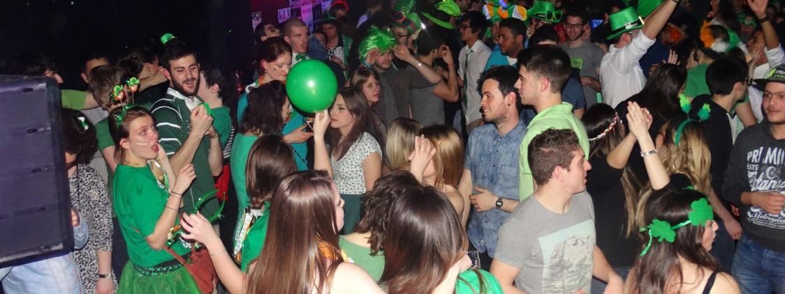 Record Numbers attend EazyCity Cork St. Patrick's Party!