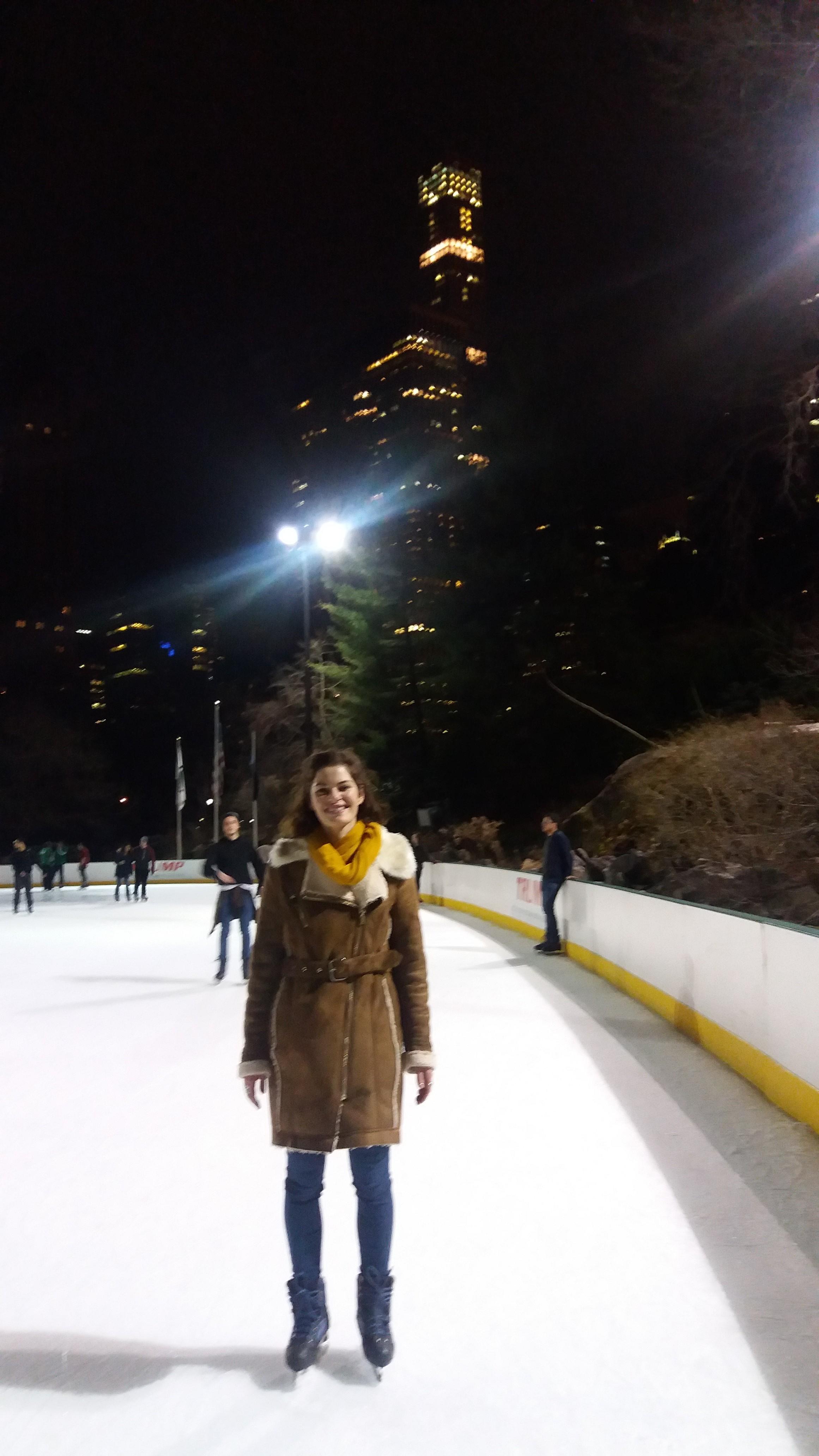 Rebecca - Au Pair - NY USA - go abroad - Ice-skating
