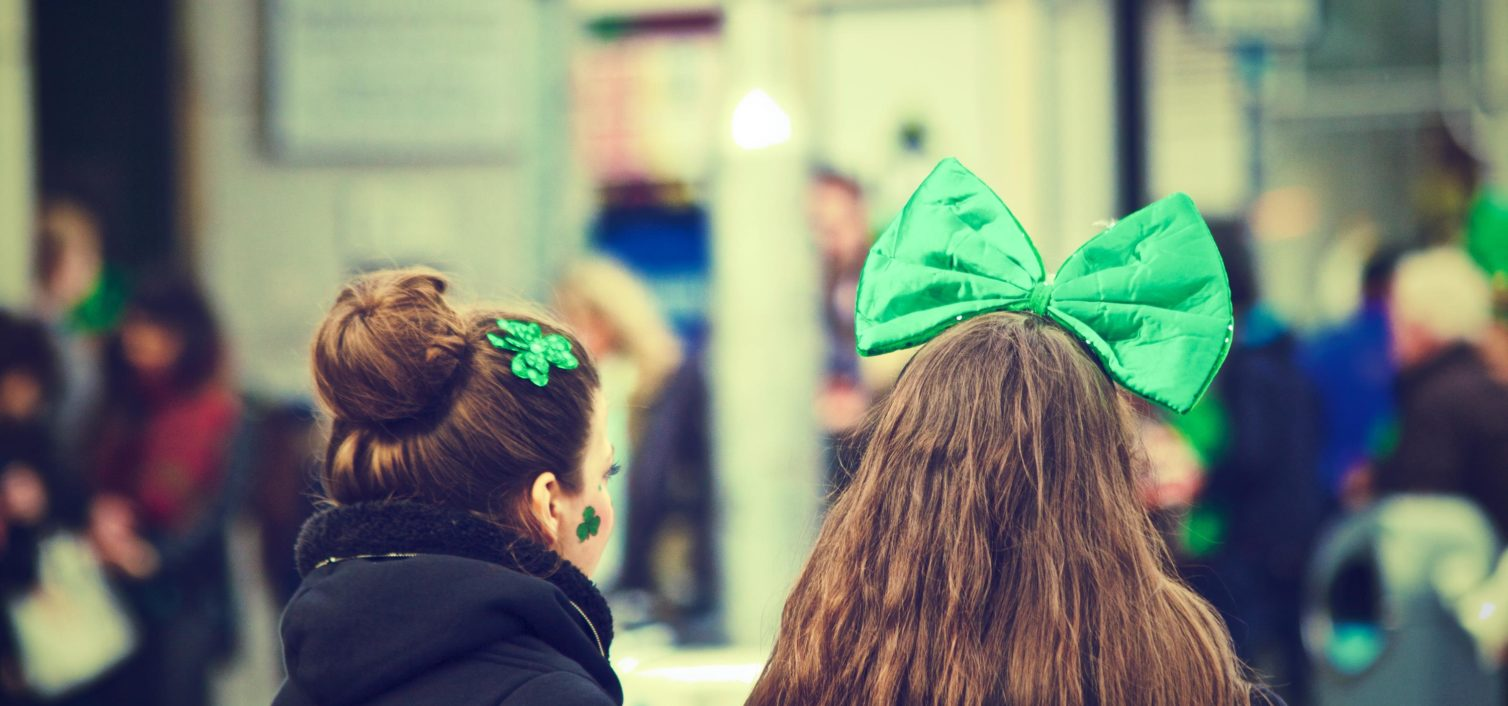 Being in NY won't stop me from celebrating my Irishness on Paddy's Day