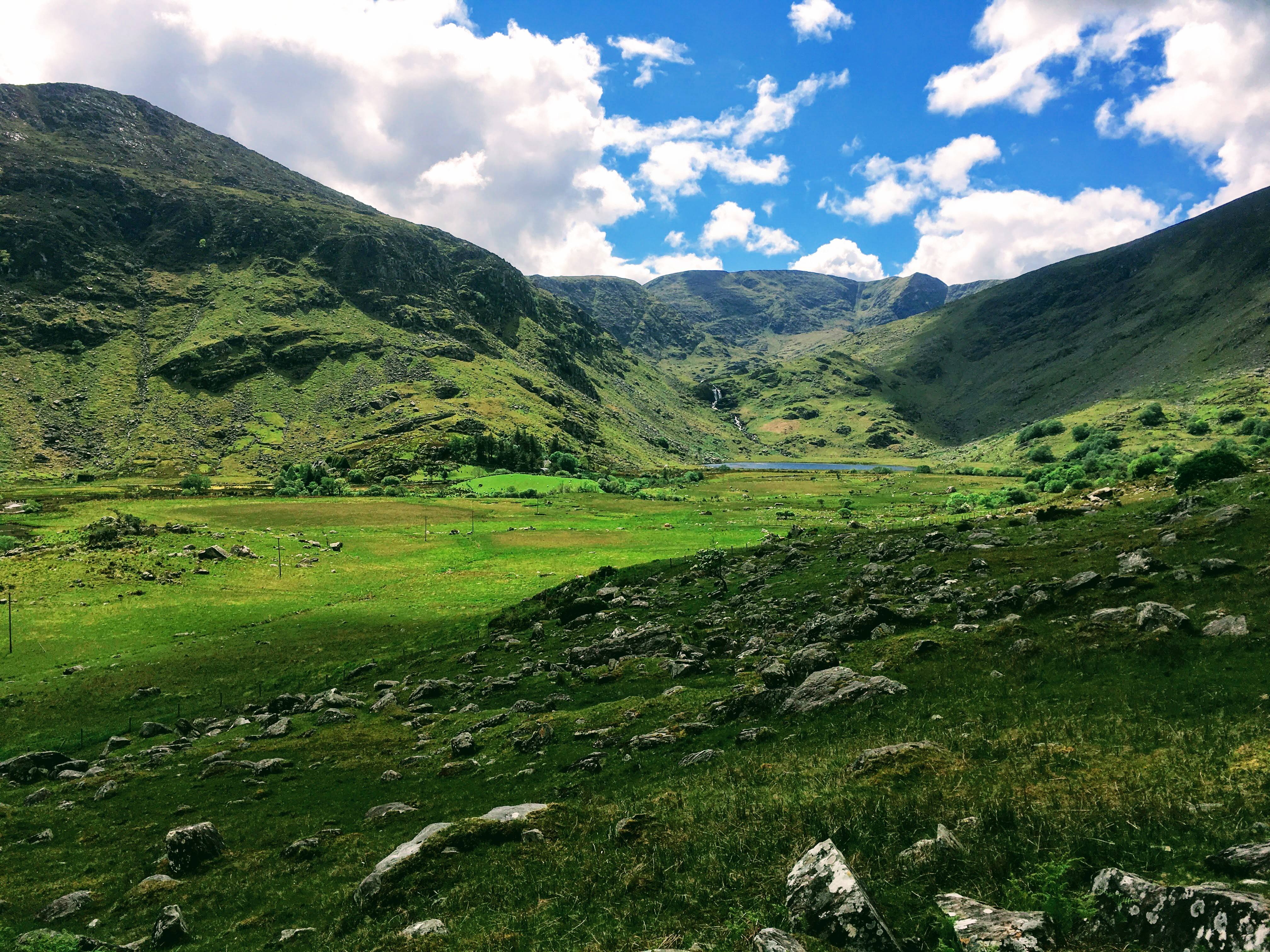 Walk to this beautiful valley via the Kerry Way out of Killarney