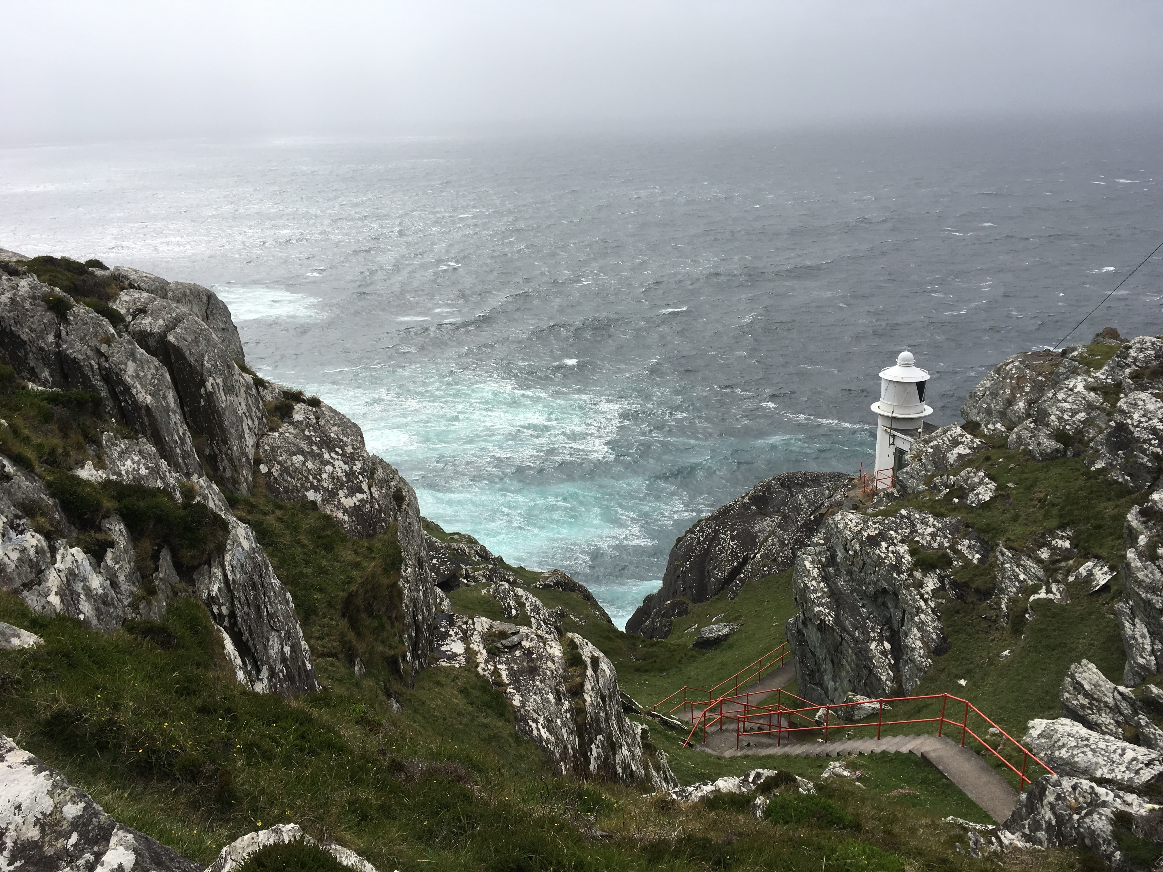 Take a scenic drive in West Cork to the Mizen Head Lighthouse
