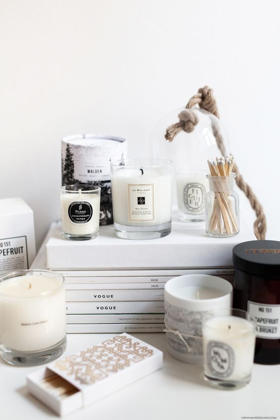 candles, inspiration