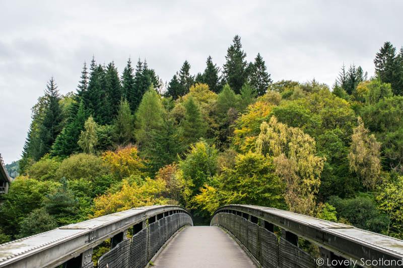 excursiones de otoño Pitlochry