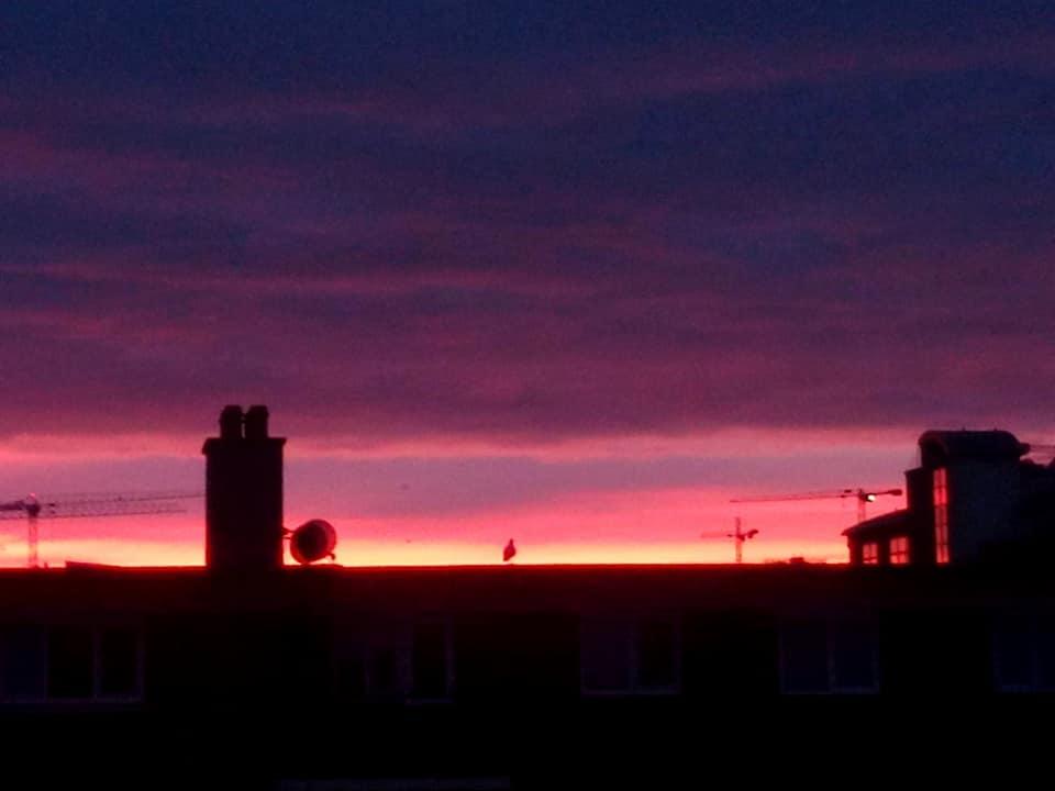 L'alba a Dublino