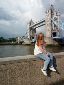 Torre de Londres, durante mi experiencia en viviendo en el extranjero