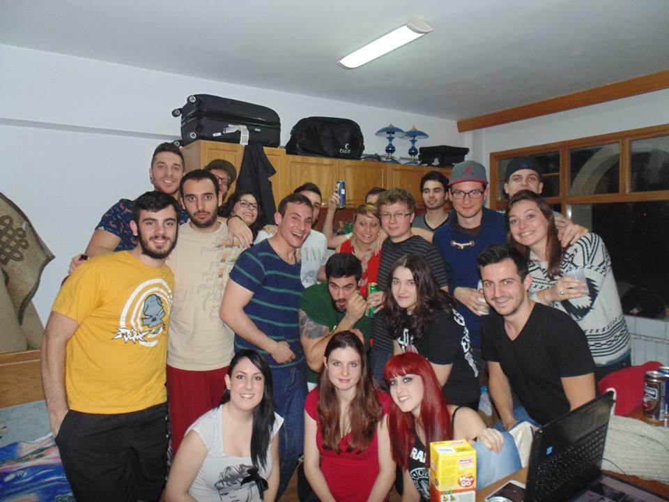 Erasmus foto di gruppo