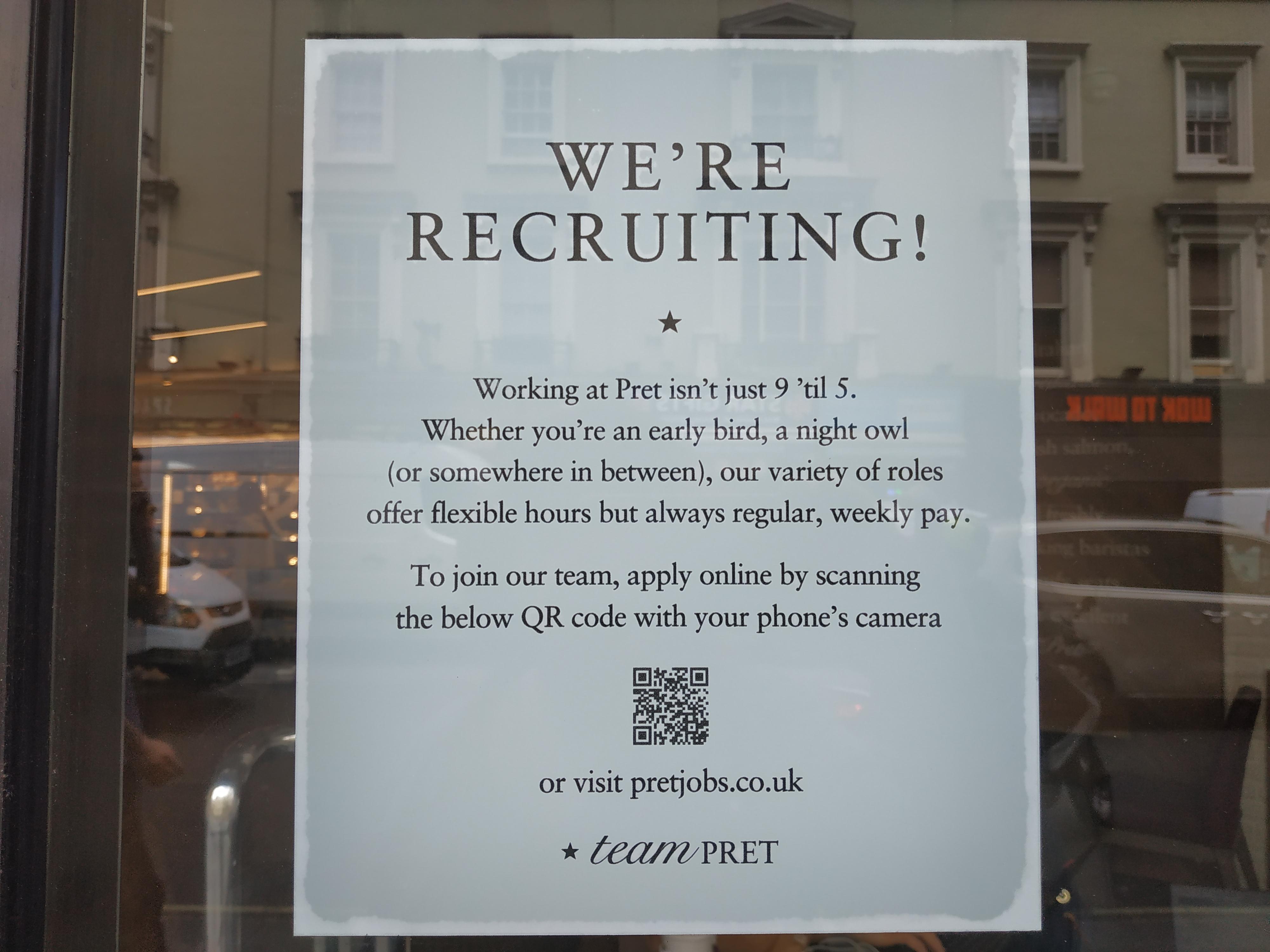 Dónde buscar trabajo en Londres