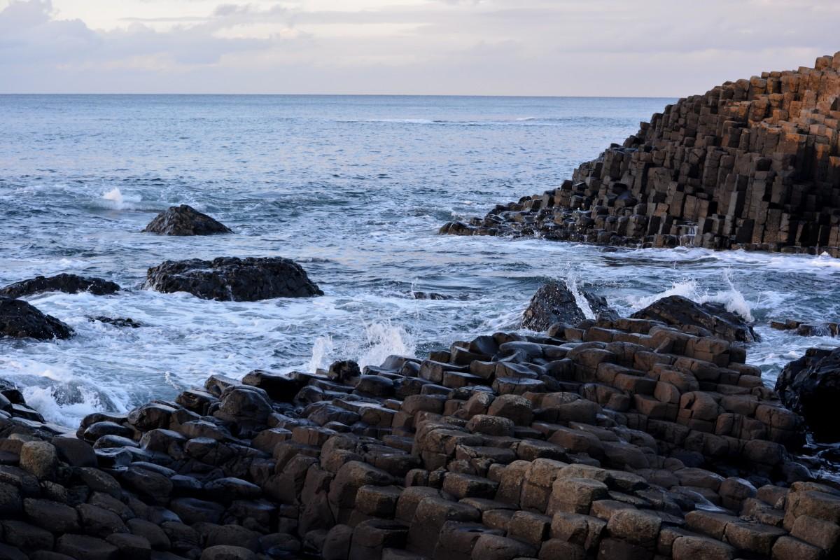 Giant's Causeway plus beaux lieux d'Irlande
