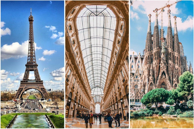 Costo della vita: Milano, Barcellona e Parigi a confronto