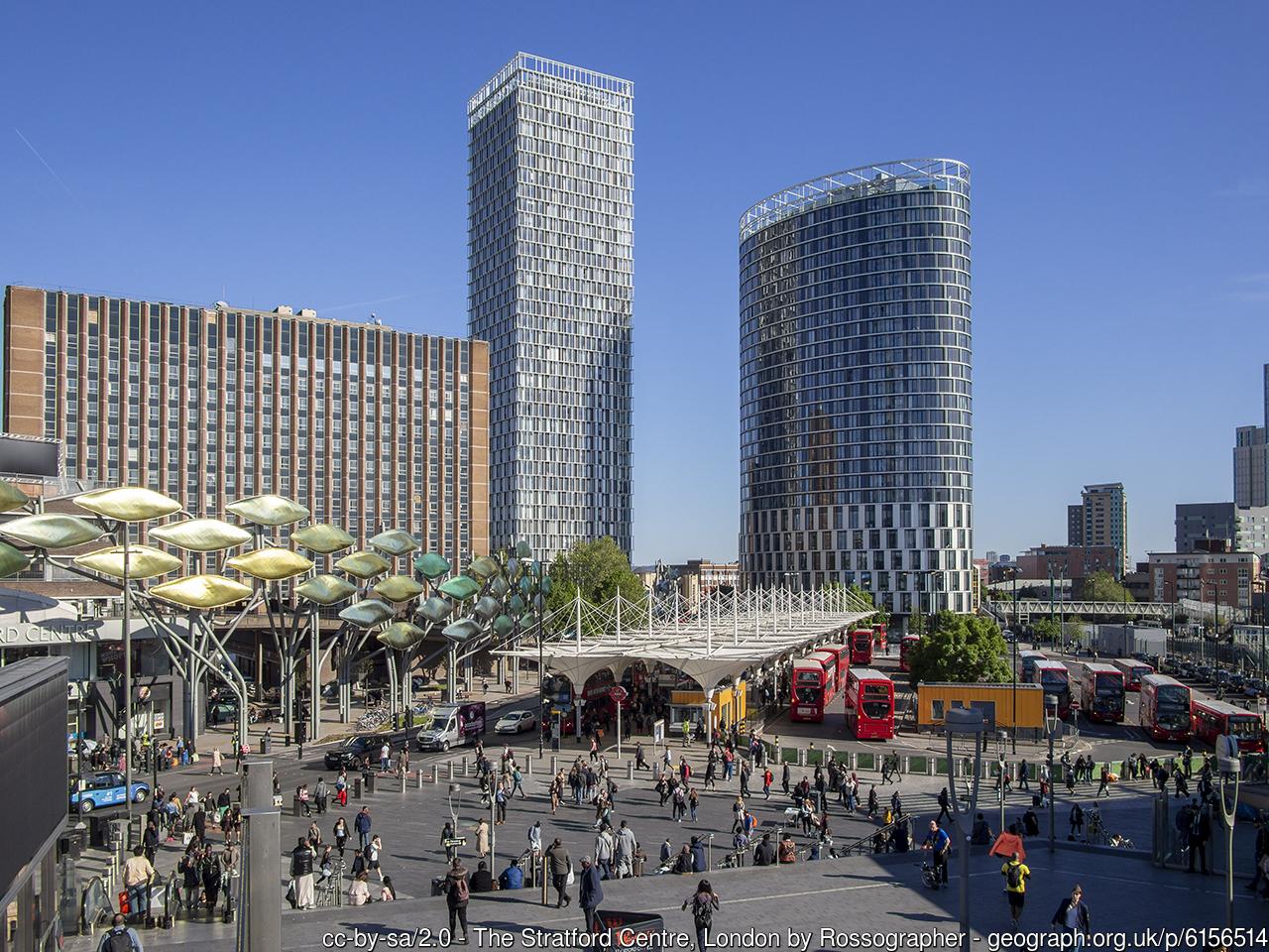 Stratford, mejores barrios de Londres donde vivir