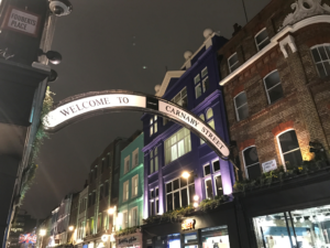 Canarby Street - meilleures rues de Londres