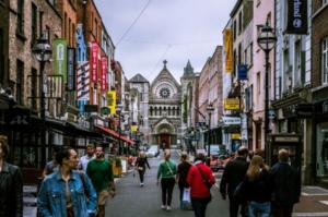 Españoles por Dublín