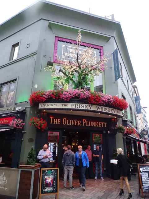 Visit of Cork: top things to do: The oliver Plunkett